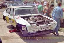 "Ford Capri RS3100 GAA Thundersaloon Castle Combe 1989 7x5"" photo"